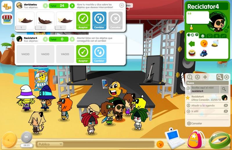 chat juegos para ninos