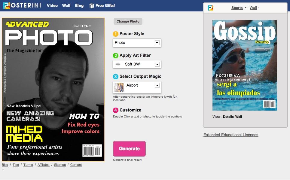 12 páginas online para crear falsas portadas de revista | Ounae