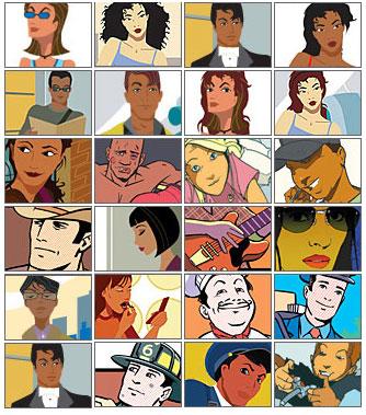 los mejores avatares animados: