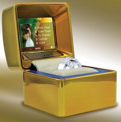 La caja de anillo que captura el mejor momento (Video)